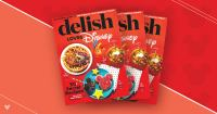 Delish Loves Disney Magazine