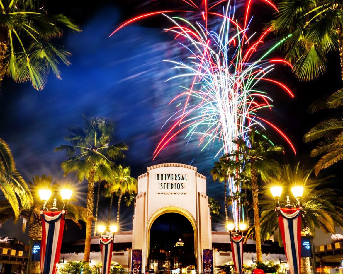 Universal Studios Hollywood Celebrates Independence Day with Its Dazzling July 4th Fireworks Spectacular