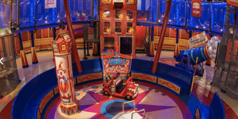 Indoor play area reopened for Dumbo the Flying Elephant