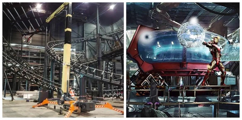 First Look at Iron Man Roller Coaster coming to Disneyland Paris