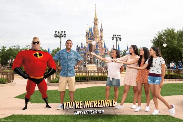 Capture an INCREDIBLE Father's Day Magic Shot at Disney World 2