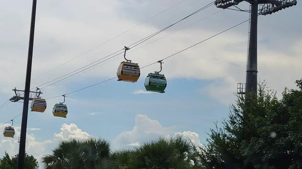 Storms shut down many Walt Disney World attractions