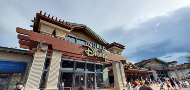 World of Disney now available on Shop in Store in My Disney Experience 4