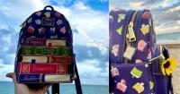 Disney Princess Books Backpack