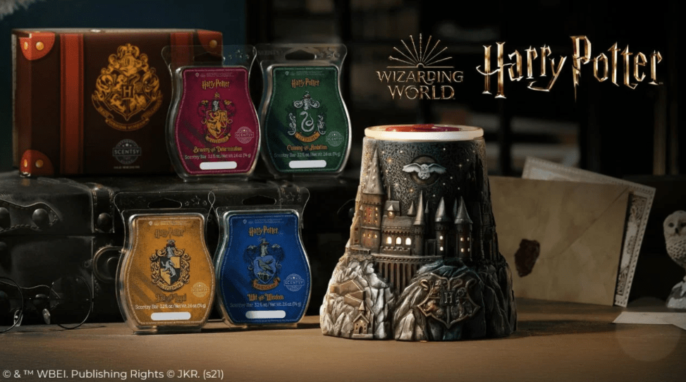 Cast A Spell With The New Harry Potter Scentsy Collection