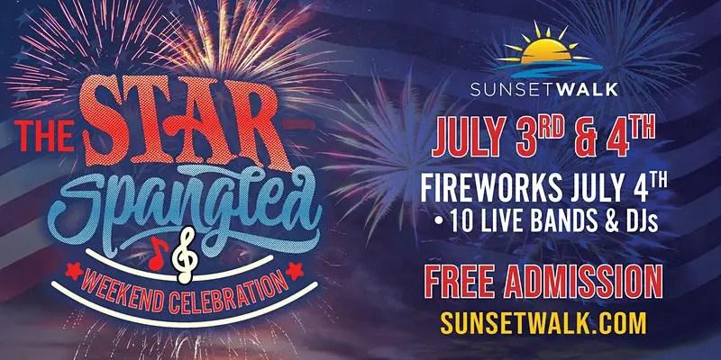 Celebrate Independence Day at Sunset Walk Orlando