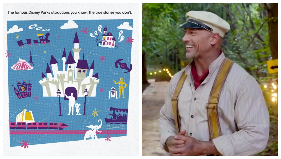 The Rock is Excited for the 'Behind the Attraction' Disney+ Series