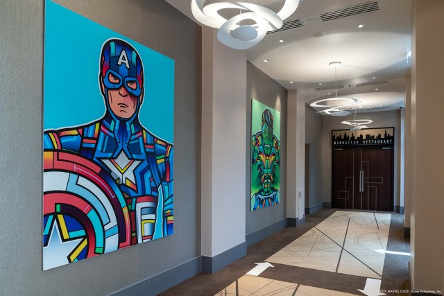 Hotel New York – The Art of Marvel Officially Opens Today at Disneyland Paris 7