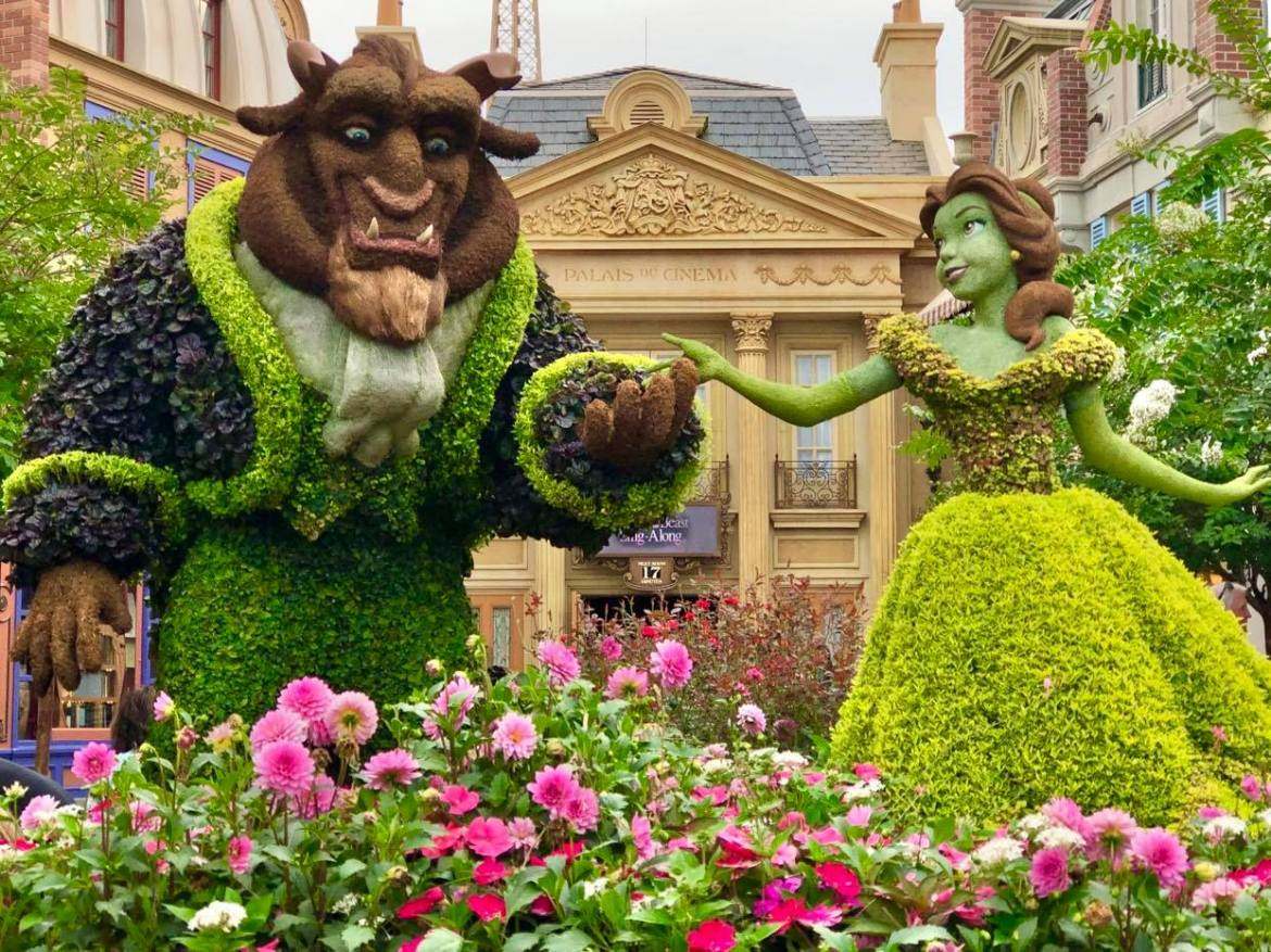 Beauty and the Beast Sing-Along in EPCOT Seating Every Row