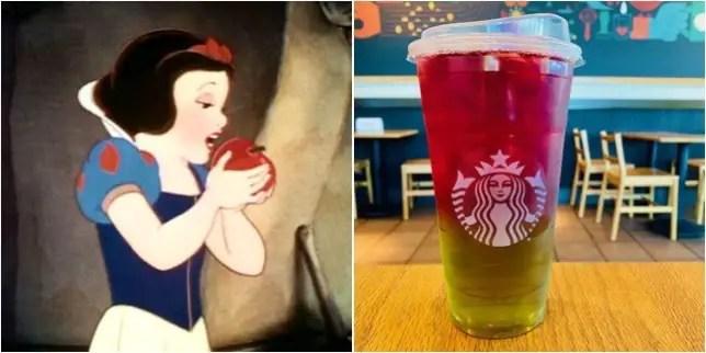 Snow White's Poisoned Apple Refresher From Starbucks!