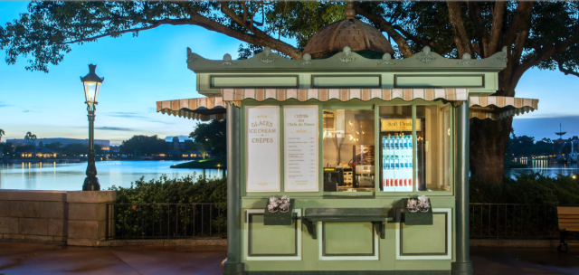 Price increase at 3 Epcot France Pavilion Quick Service Spots 3