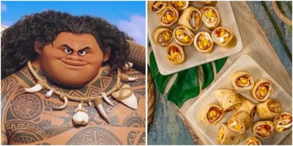 Maui Pizza Rollups
