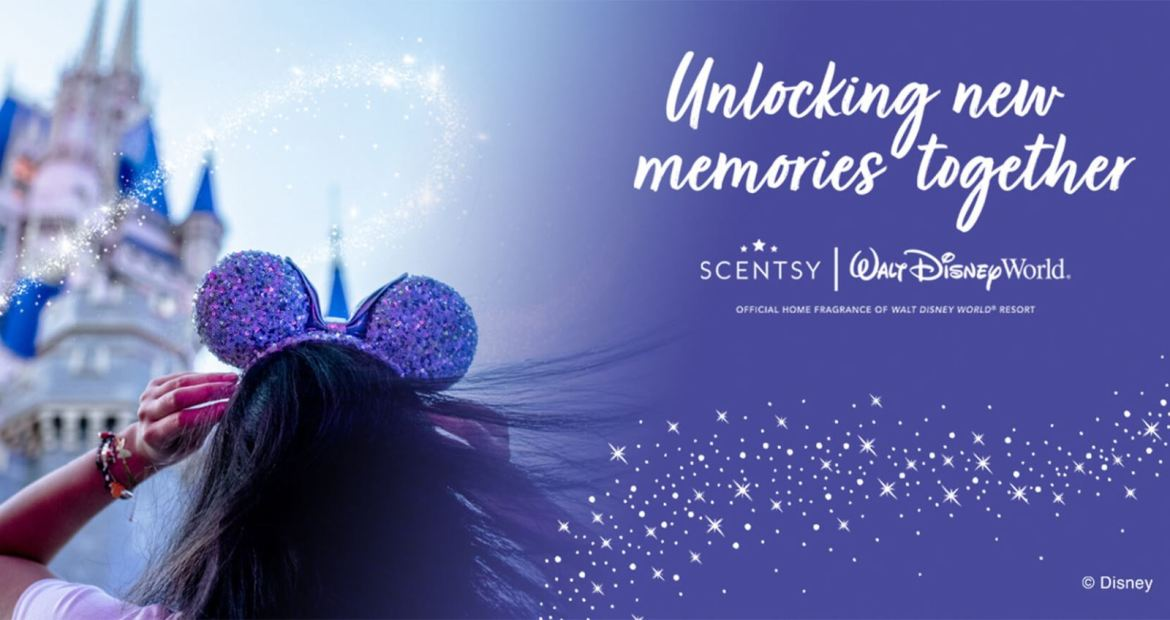 Scentsy Entering New Multi-Year Relationship With Walt Disney World