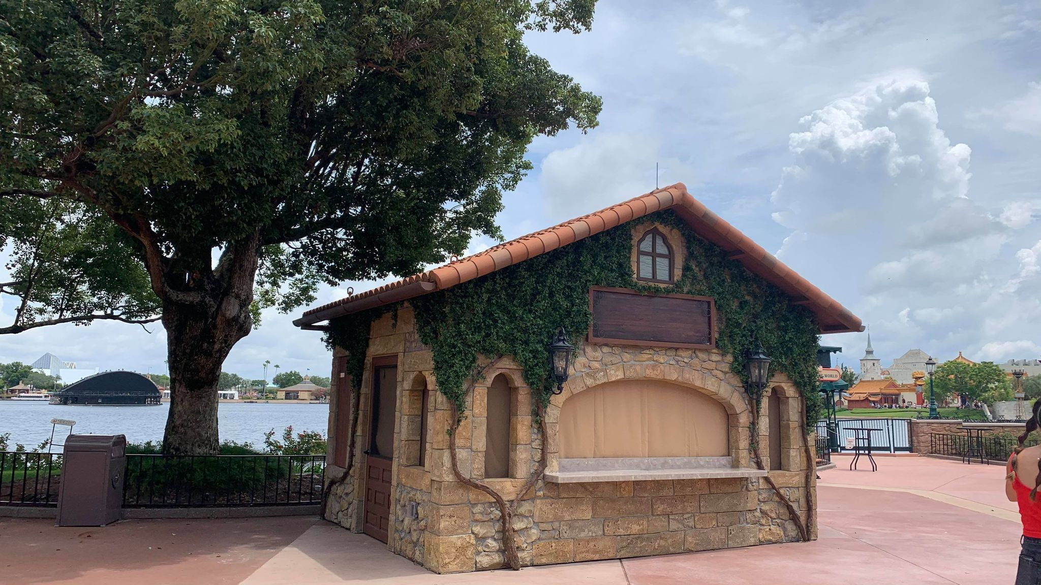 New Food & Wine Festival Booths Now in Epcot 4