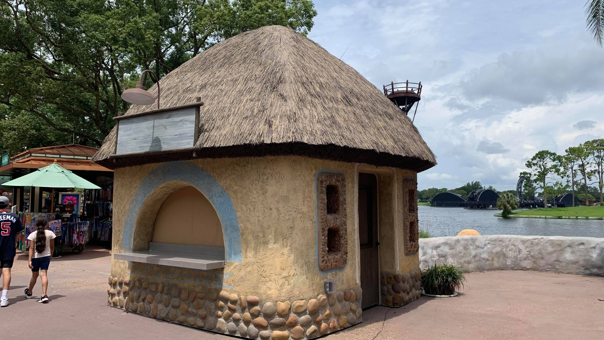 New Food & Wine Festival Booths Now in Epcot 2
