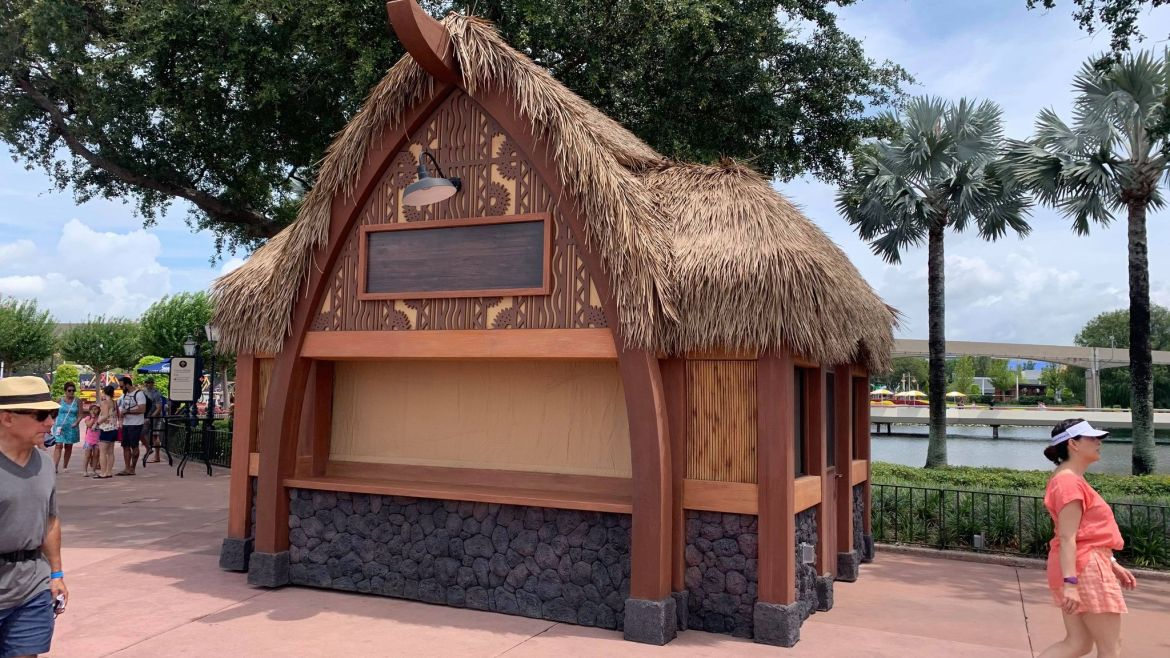 New Food & Wine Festival Booths Now in Epcot