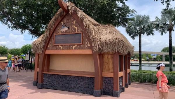 EPCOT Food & Wine Festival 2021 Hawaii Booth