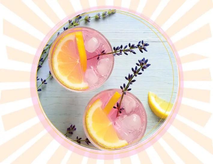 Refreshing Lavender Hibiscus Lemonade For This Summertime!