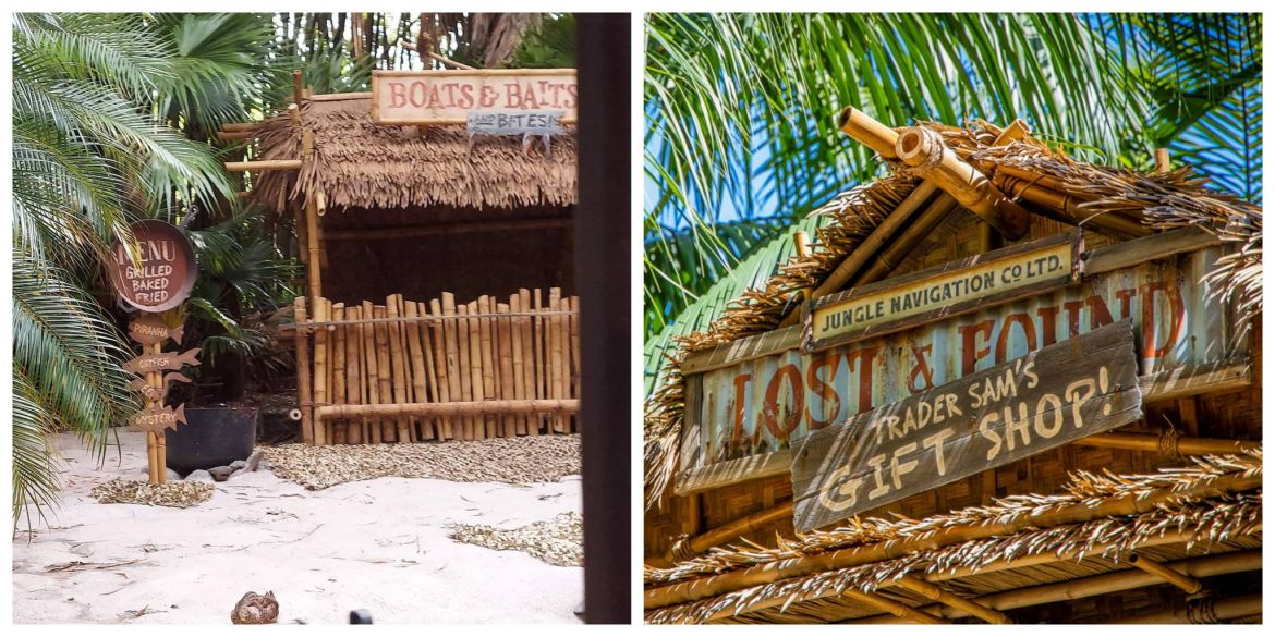 New Building Replaces the Pygmy Hut on the Jungle Cruise