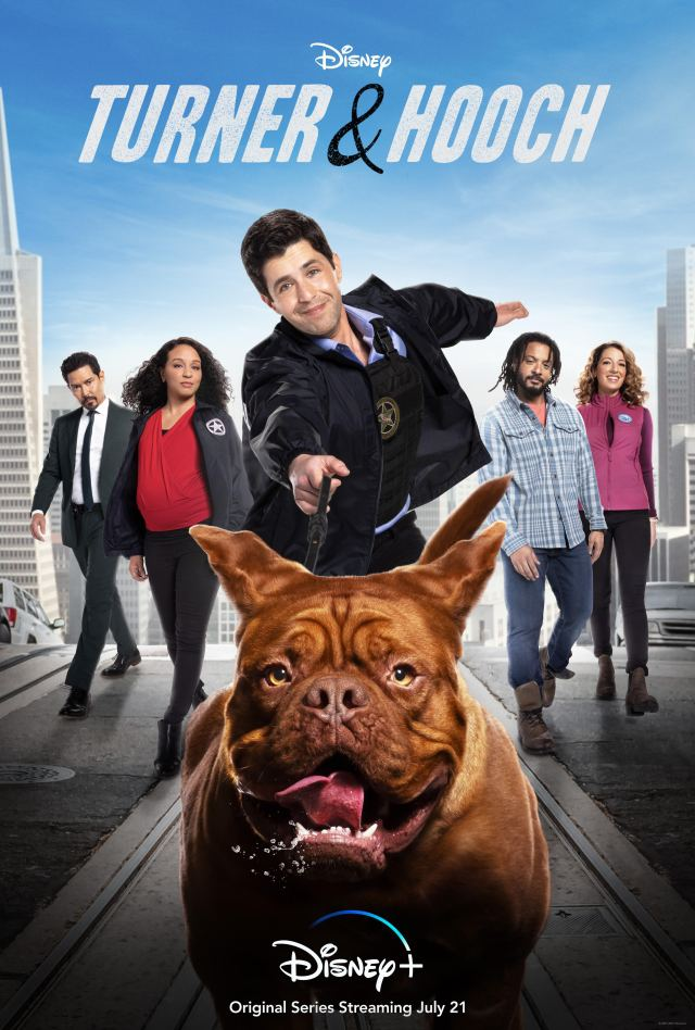Check Out the Official Trailer for the 'Turner & Hooch' Disney+ Series Starring Josh Peck 2