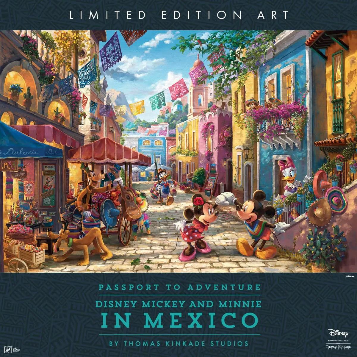 Thomas Kinkade Studios Legacy Artist Dirk Wunderlich will be making appearances at The Art of Disney in Disney Springs. 2