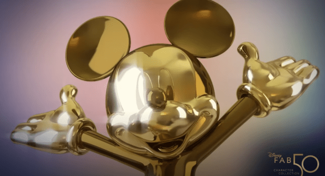 First 'Disney Fab 50' Sculpture Revealed for Walt Disney World 50th Anniversary 1