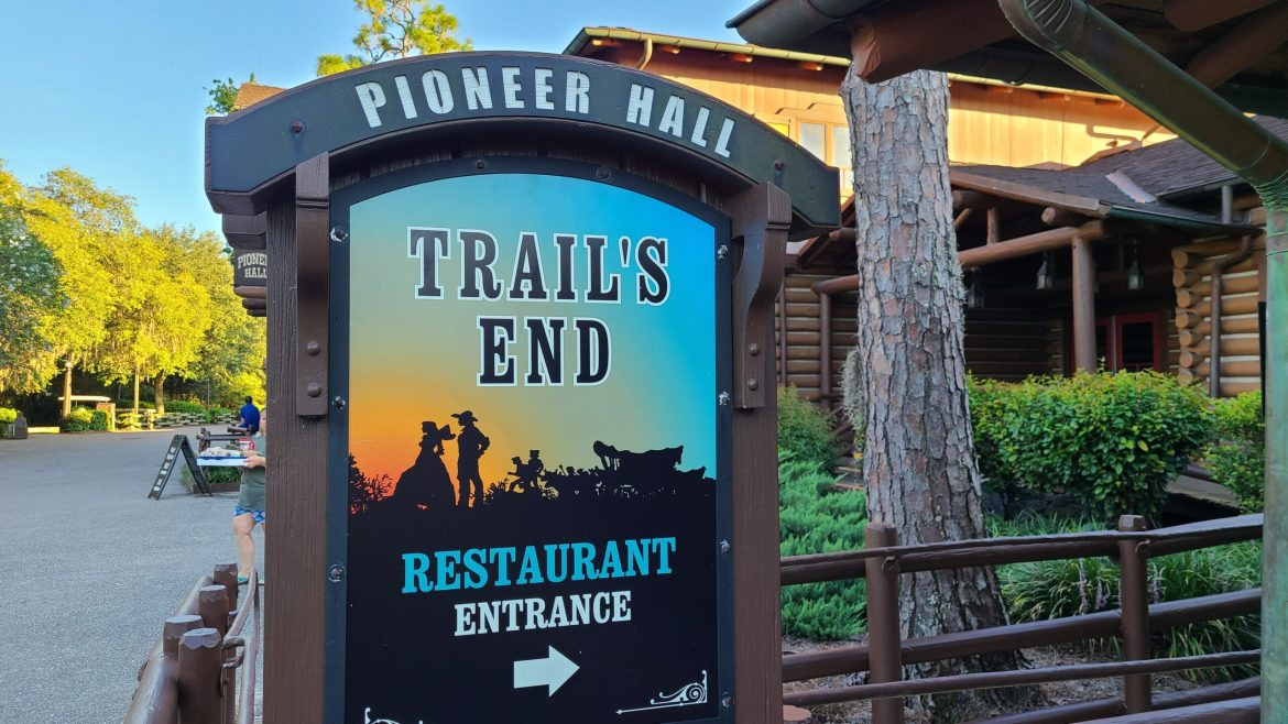 Dinner at the Reopening of Trail's End in Disney's Ft. Wilderness is a great value with good food