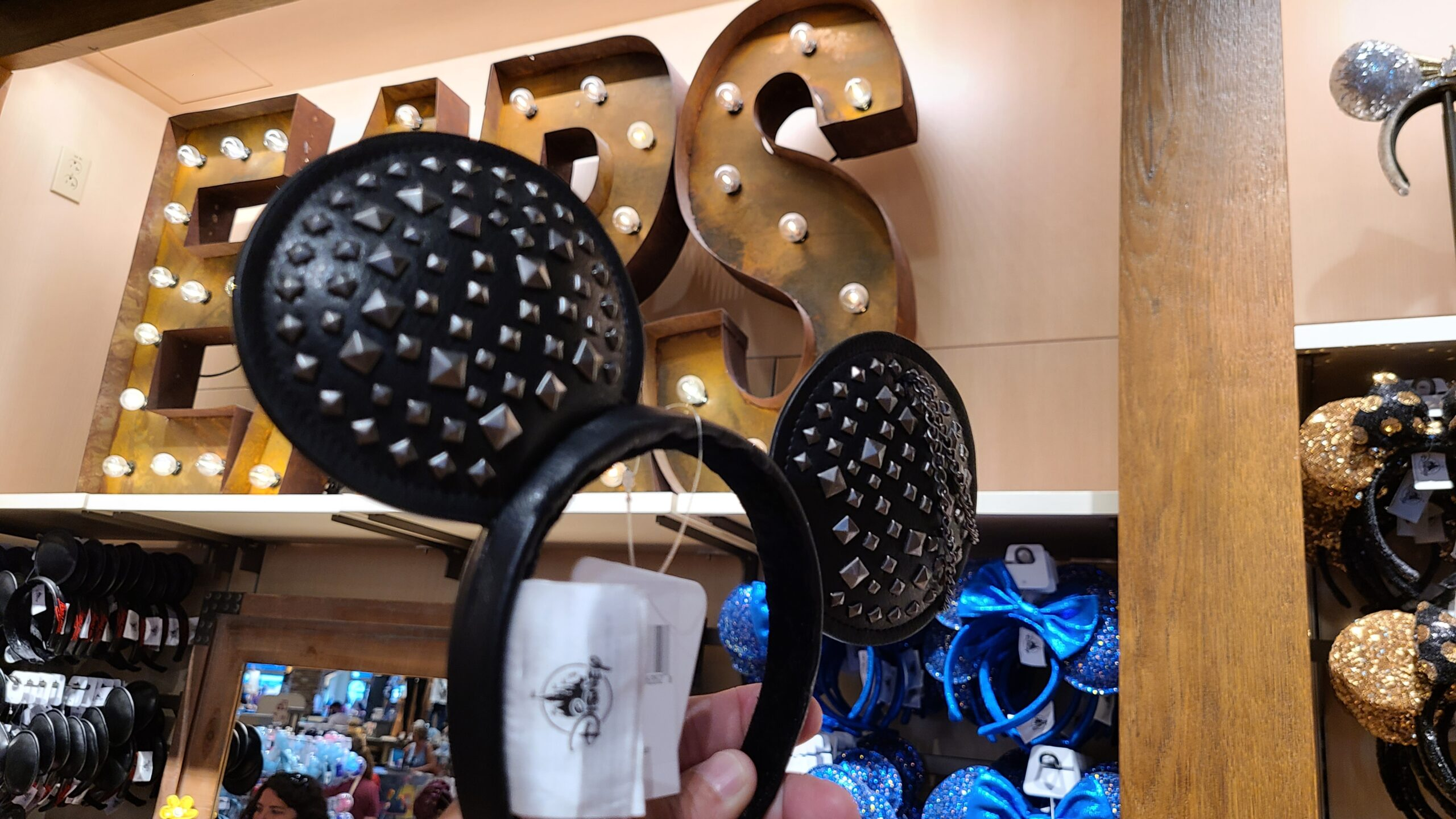 Studded Minnie Ears spotted at Disney Springs 1