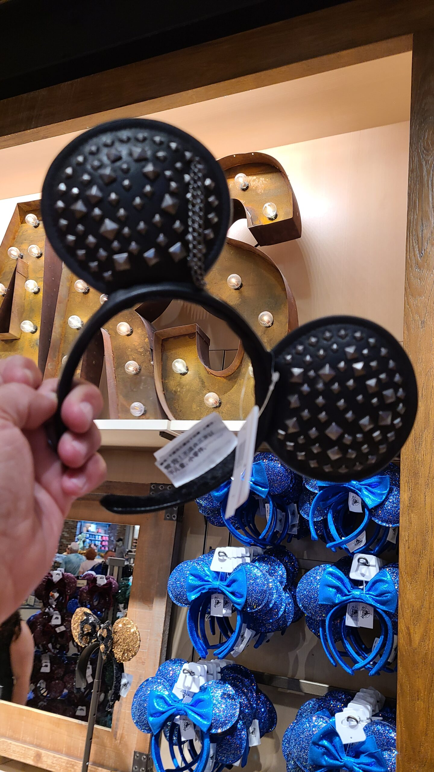 Studded Minnie Ears spotted at Disney Springs 2