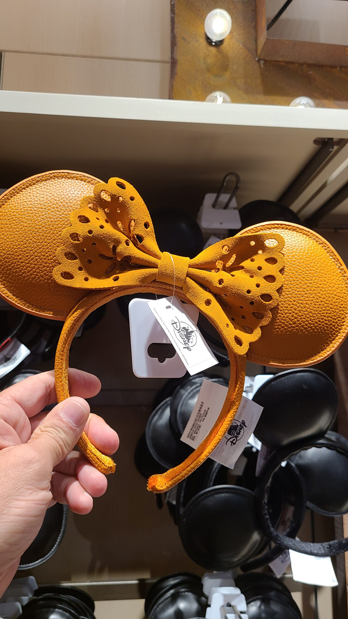 New Leather & Suede Minnie Ears at Disney Springs 2