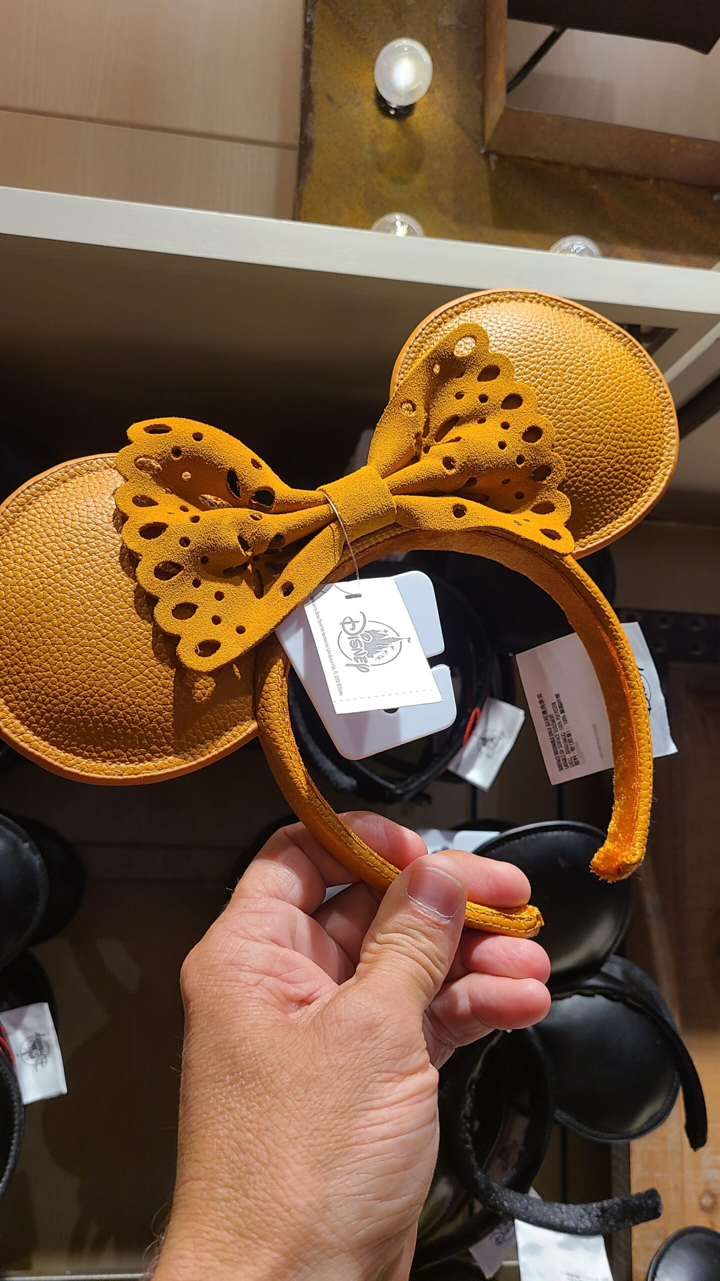 New Leather & Suede Minnie Ears at Disney Springs 3