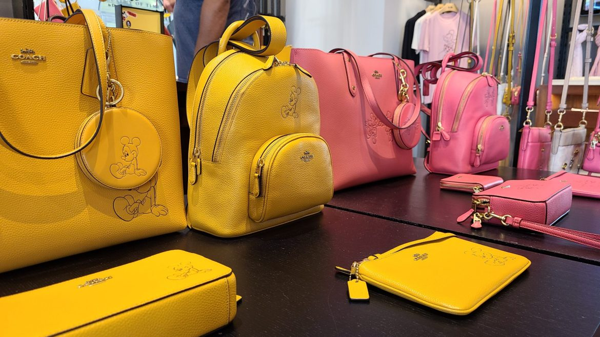 New Mickey & Minnie Coach Collection spotted at Disney Springs