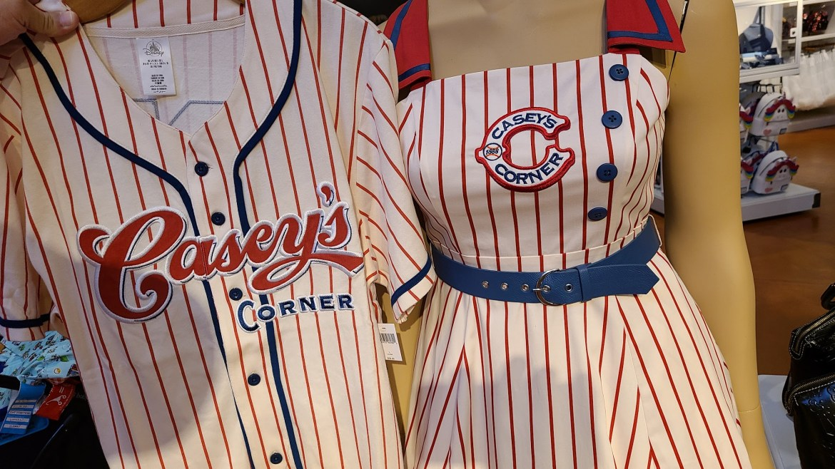 Matching Casey's Corner Baseball Jersey goes perfectly with New Dress
