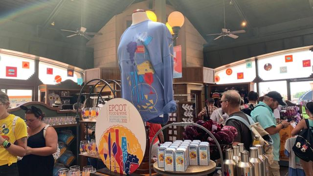 First look at the Epcot International Food & Wine Festival Merch for 2021 21