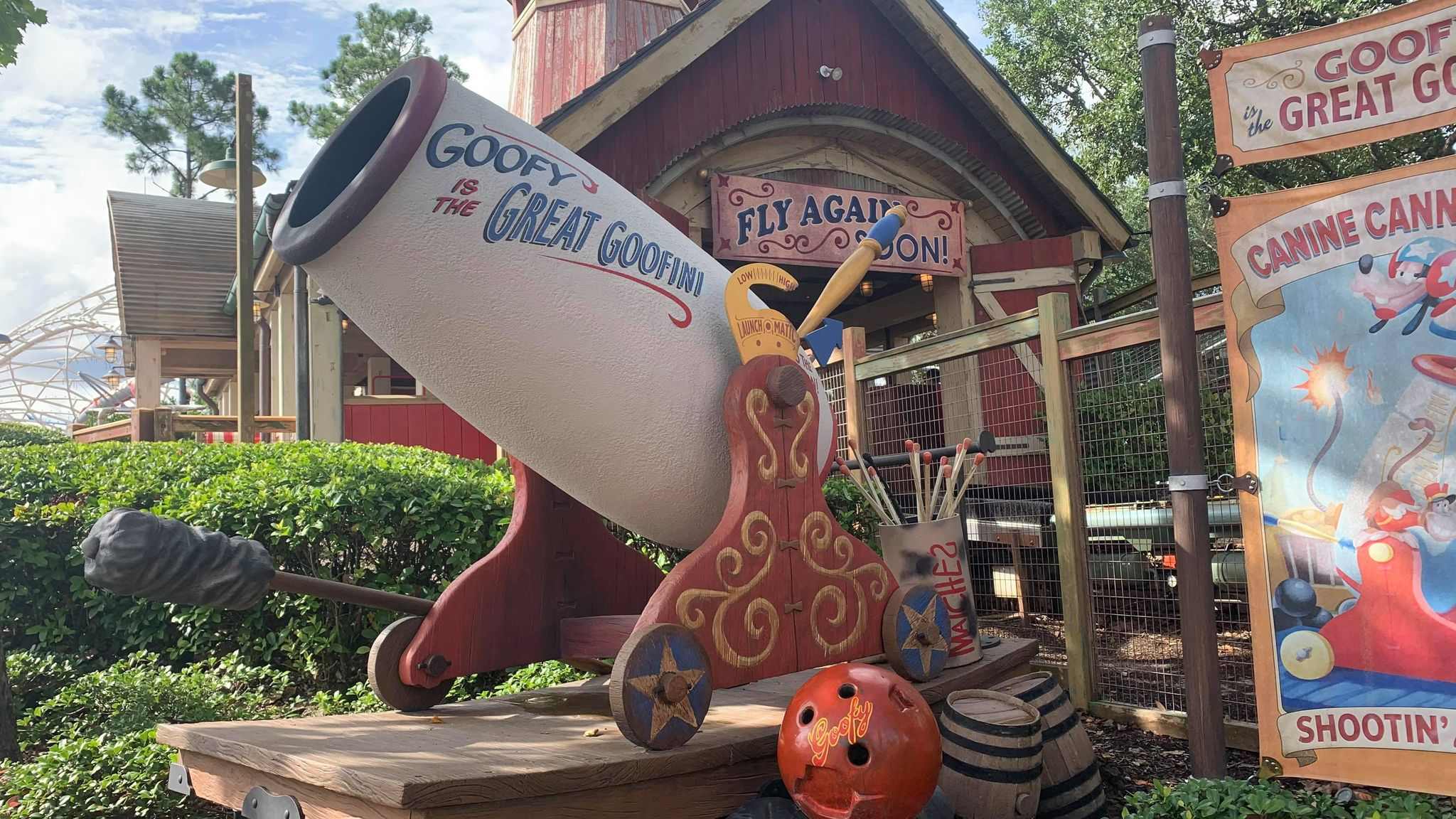 Goofy's Barnstormer gets a fresh coat of paint for 50th Anniversary 2
