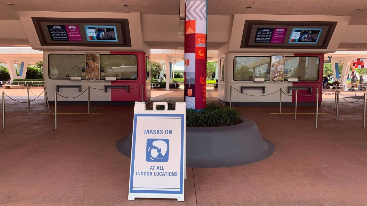 Guests are once again required to wear Face Masks indoors at Disney World