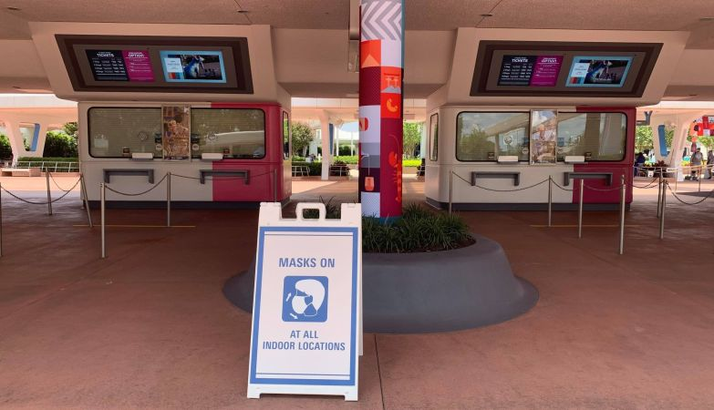 Guests are once again required to wear Face Masks indoors at Disney World 3