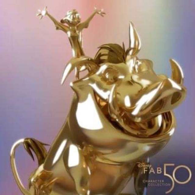"""Timon and Pumbaa Revealed for """"Disney Fab 50 Character Collection"""" 2"""