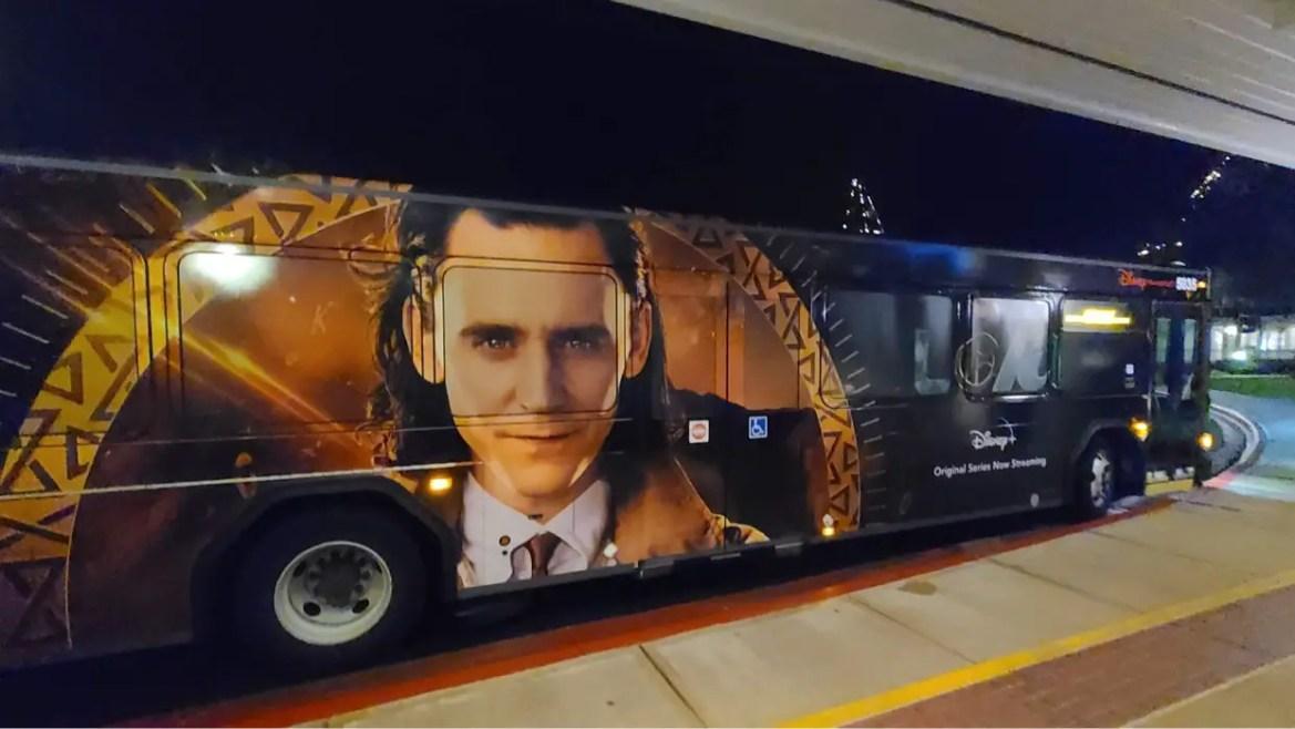 New Loki Bus spotted at Walt Disney World