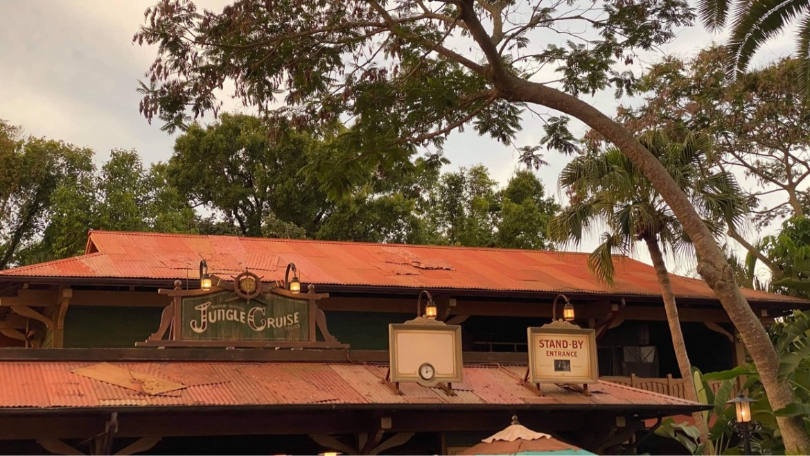 New Jungle Cruise Sign installed in the Magic Kingdom