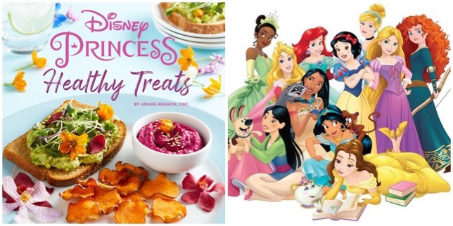 Make Magic In The Kitchen With This Disney Princess Healthy Treats Cookbook!