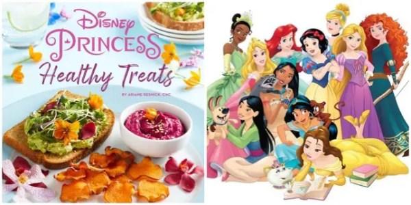 Disney Princess Healthy Treats Cookbook