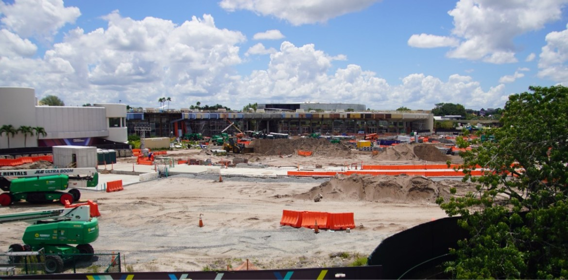 Progress is made on Moana Journey of Water in Epcot