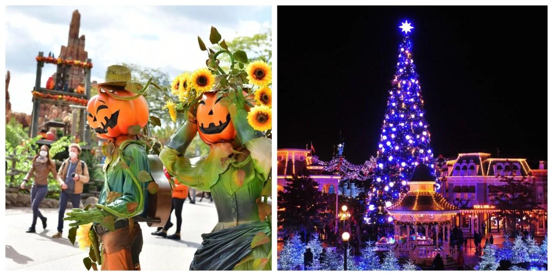 Halloween and Christmas seasons return to Disneyland Paris!
