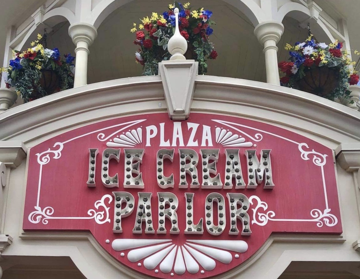 Plaza Ice Cream Parlor is now open in the Magic Kingdom