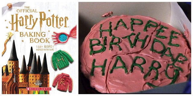Bake your way though Hogwarts with this New Harry Potter Baking Cookbook 1