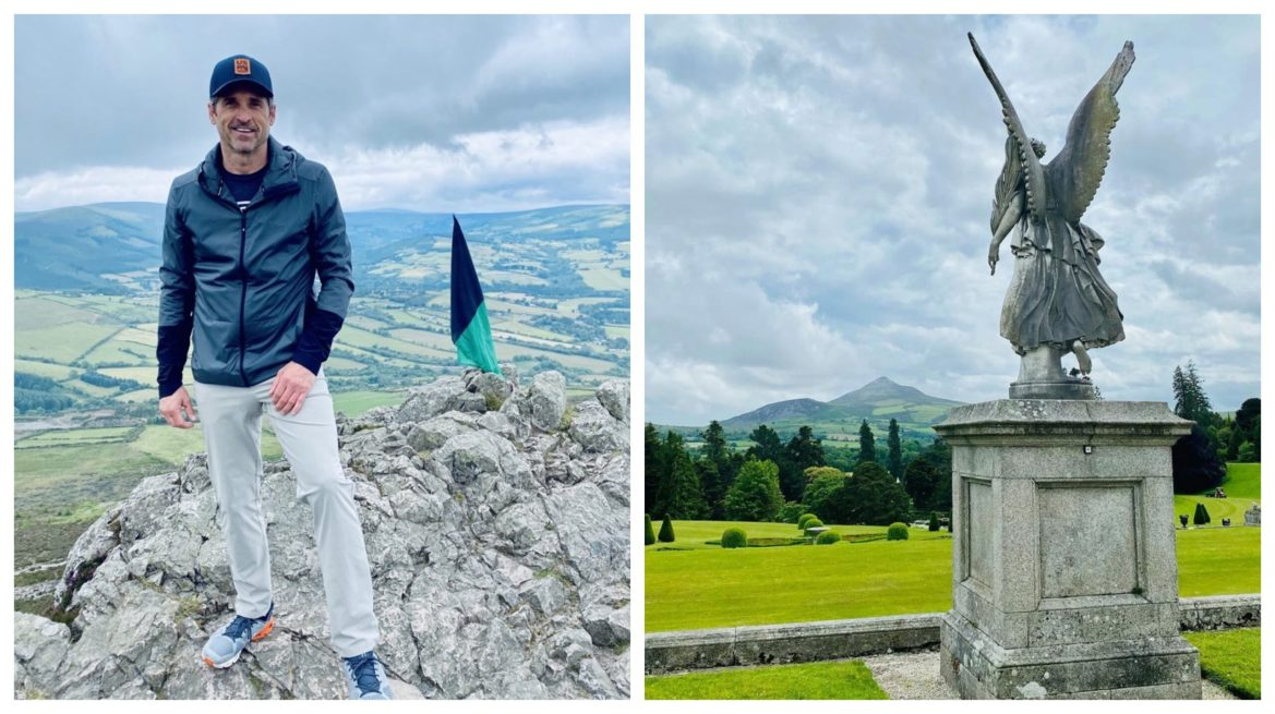 Patrick Dempsey Shares Beautiful Photos of Ireland While Filming Disney's 'Disenchanted'