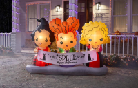 Make Your Yard Spooktacular This Halloween Season with These Disney Themed Inflatables from Home Depot 2