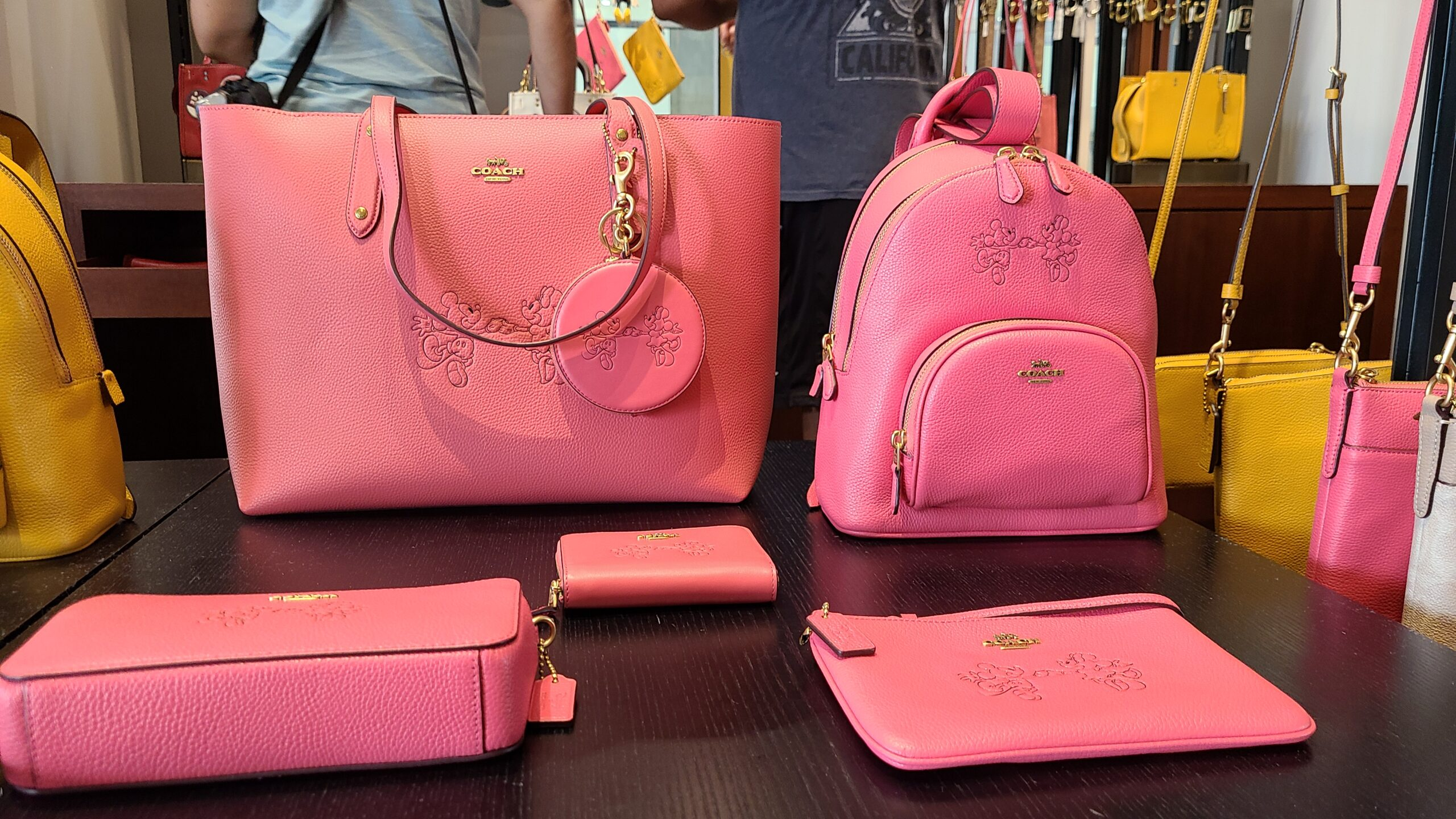 New Mickey & Minnie Coach Collection spotted at Disney Springs 4
