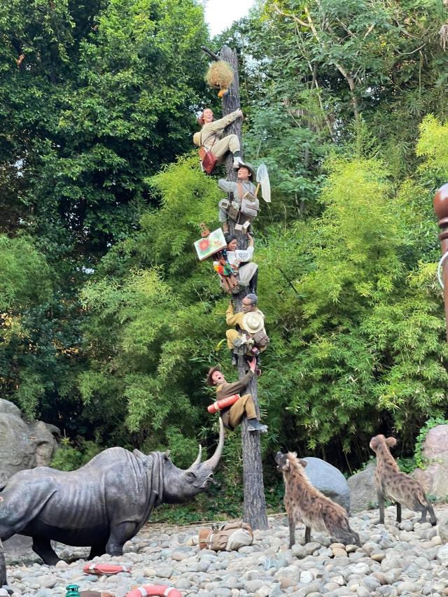 Take a voyage on the all new Jungle Cruise in Disneyland 2